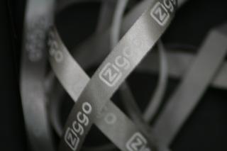 Ziggo bedrukt lint 10 mm